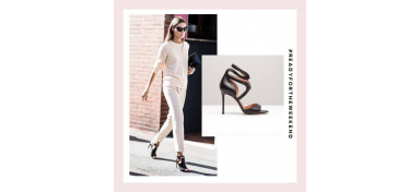 READY FOR THE WEEKEND: SIMI STILETTO SANDALS